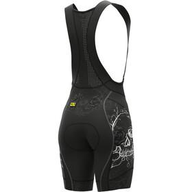 Alé Cycling PRR Skull Bib Shorts Women, black